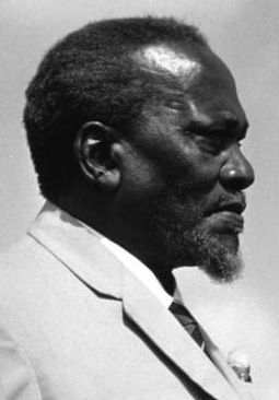 Jomo Kenyatta  |  Photo Credit: Deutsches Bundesarchiv (German Federal Archive)