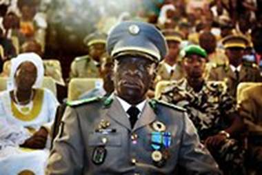 Capt. Amadou Haya Sanogo, leader of the mutiny (Malin Palm/Reuters)